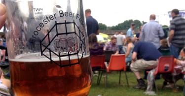 Frocester Beer Festival 2016 Pint Glass