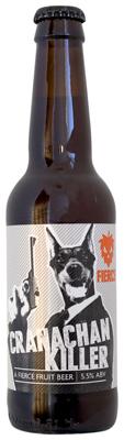 Bottle of Cranachan Killer raspberry beer