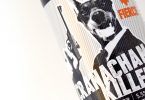 Bottle of Cranachan Killer fruit beer
