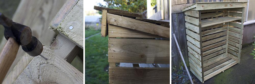 Build Rowlinson Small Log Store