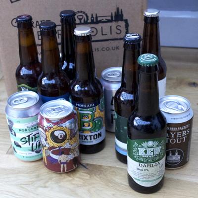 craft metropolis beer gift pack