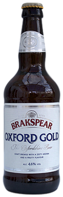 Brakspear Oxford Gold Bottle Photo