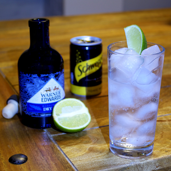 Recipe for gin and tonic
