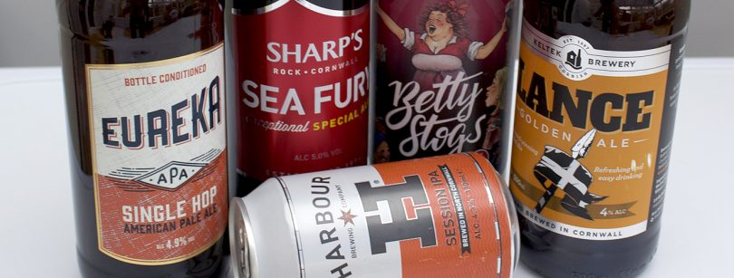 Cornish Beers In Bottles and Cans