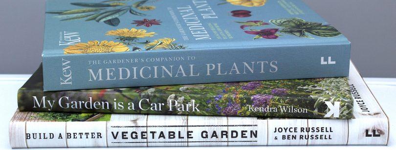 Gardening Book Spines