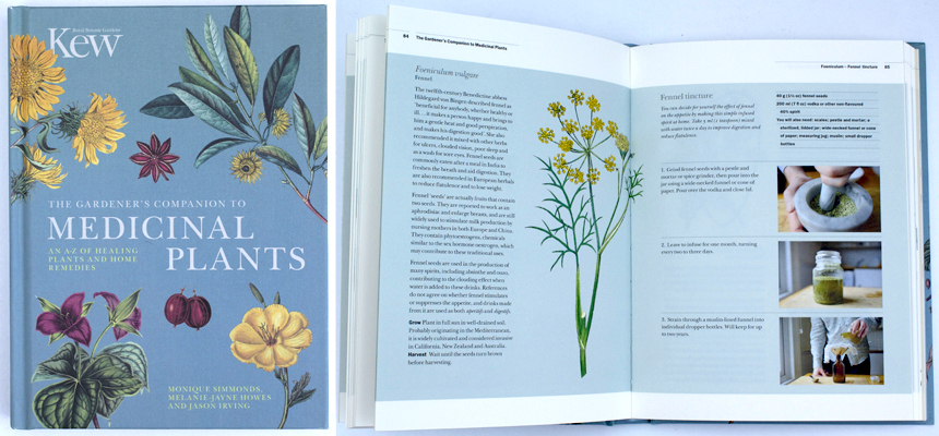 Medicinal Plants Book Kew Botanical gardens