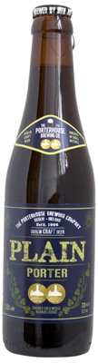 Porterhouse plain porter bottle