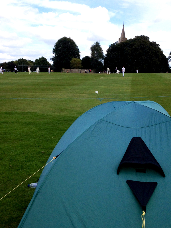 camping at frocester cricket club