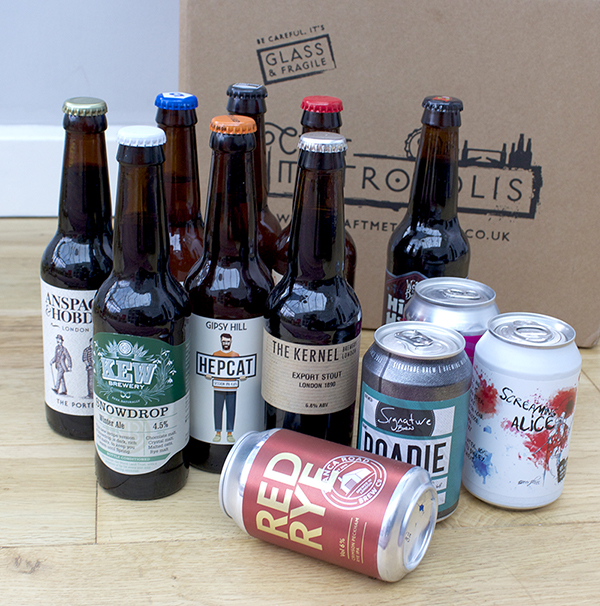 Box of London brewery beers