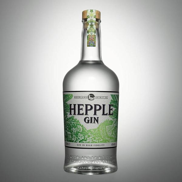 Valentine Warners Hepple Gin Bottle