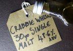 a dram of crabbie whisky