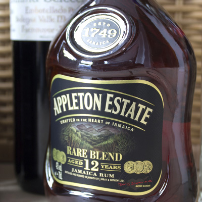 Appleton estate rum bottle label