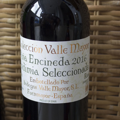 valle mayor rioja label