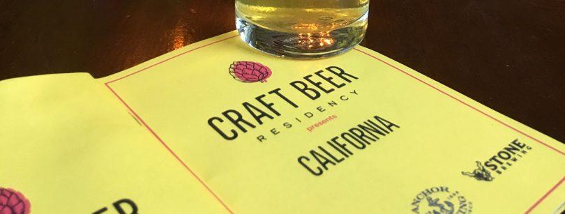 anchor Sierra Nevada stone craft beer residency
