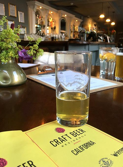 tap takeover at the mall pub Bristol