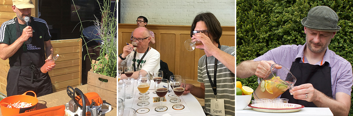 Beer judging experts