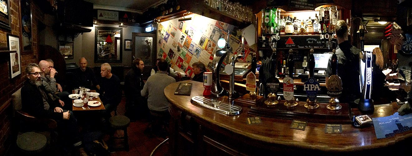 Inside the Town Wall Tavern