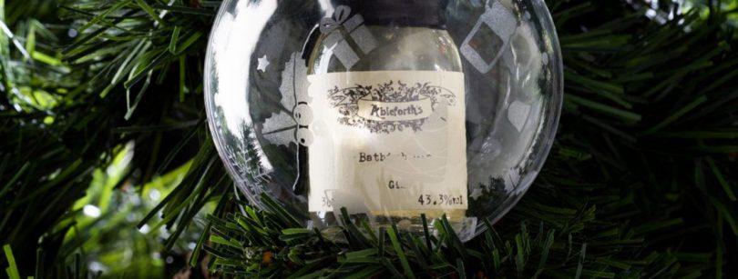 Christmas gift gin