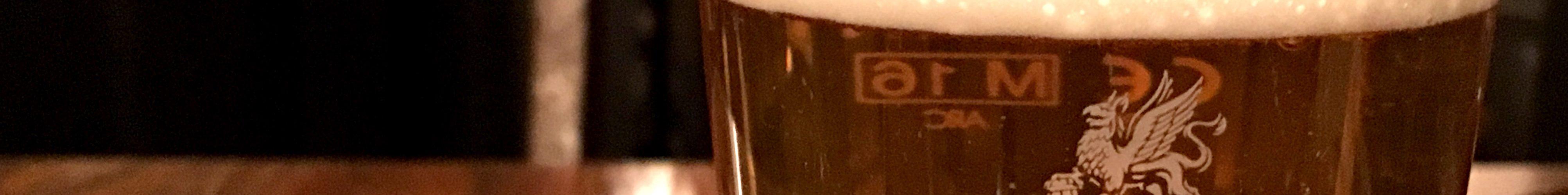 Glass of Dark Star Hophead