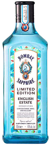 Bombay Sapphire Estate Gin Bottle