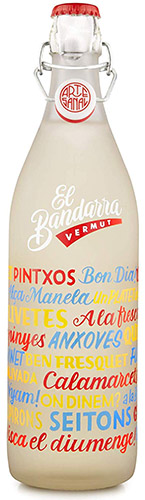 bottle el bandarra white vermut