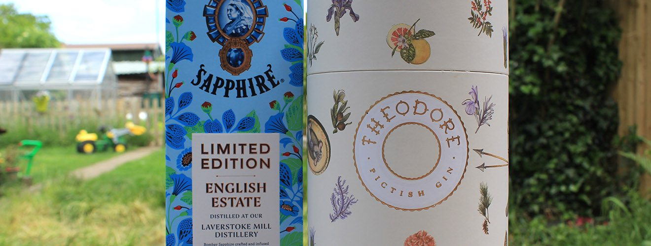 limited edition Bombay Sapphire gin