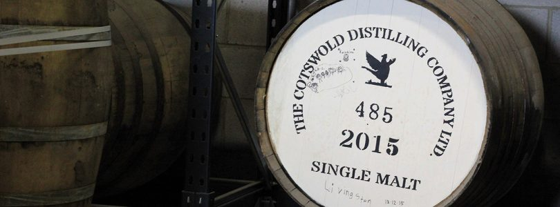 Cotswolds Distillery English whisky barrel