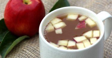 apple hot toddy with rum or brandy