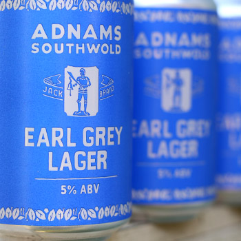 Cans of Jack Brand Earl Grey Lager