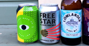 Alcohol free beer range