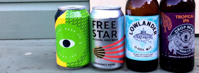 Alcohol free beer range