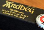 Ardbeg single malt whisky feature