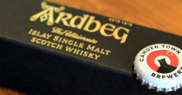 Ardbeg single malt whisky feature