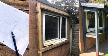 Build an outside bar